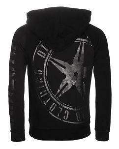 Disturb Clothing DSTRB Hoodie Black/Black