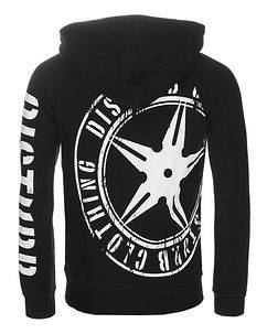 Disturb Clothing DSTRB Hoodie Black/White