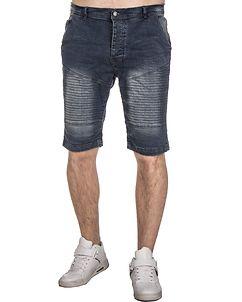 MZ72 Brand Farcry Biker Shorts Denim Blue