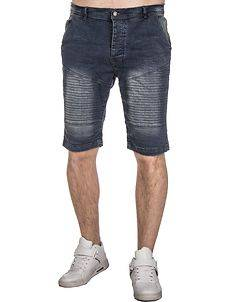 MZ72 Brand Farcry Biker Shorts Denim Blue