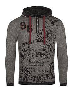 Cipo & Baxx CL283 Hoodie Anthracite