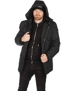 MZ72 Brand Lucky Winter Jacket Black