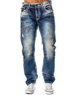 Cipo & Baxx CD149 Jeans Denim Blue
