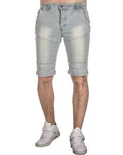MZ72 Brand Farcry Biker Shorts Light Denim