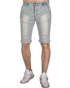MZ72 Brand Farcry Biker Shorts Light Denim