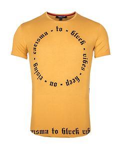 Carisma Clyde T-Shirt Chrome Yellow