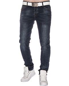 MZ72 Brand Well Jeans Denim Blue