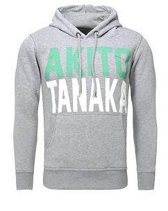 Akito Tanaka Skate Hoodie Grey/Green