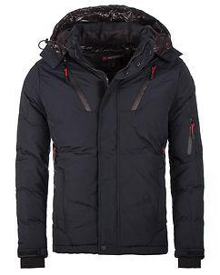 Geographical Norway Blydex Winter Jacket Dark Navy