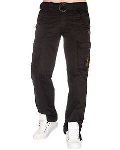 Geographical Norway Pomelo Cargo Pants Black