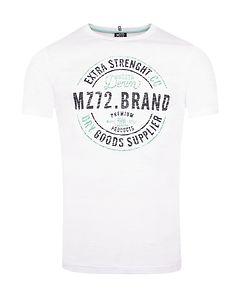 MZ72 Brand The Race T-Shirt Optical White