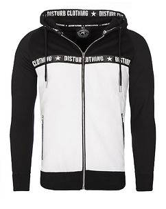 Disturb Clothing Greafal Hoodie Black/White