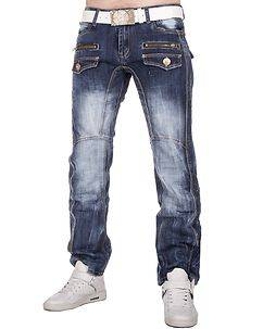 Kosmo Lupo KM-607 Jeans Denim Blue