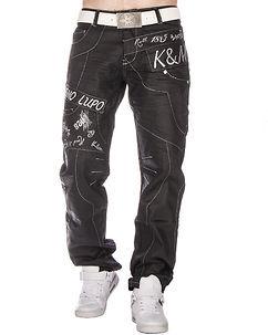 Kosmo Lupo KM-322 Jeans Black