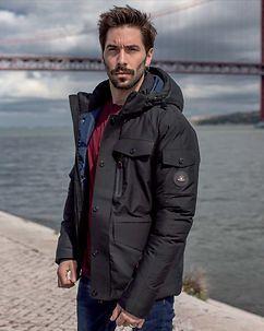 MZ72 Brand Lostriker Winter Jacket Black
