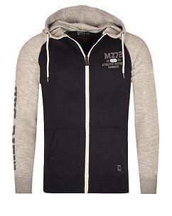MZ72 Brand Jink Hoodie Navy/Grey