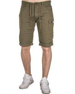 MZ72 Brand Frizzy Bermuda Shorts Olive