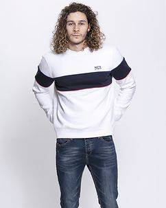 MZ72 Brand Joy Sweatshirt White