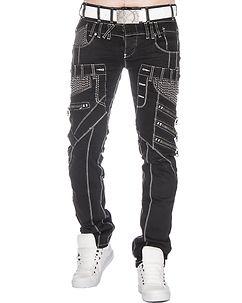 Highness Sanford Jeans Black