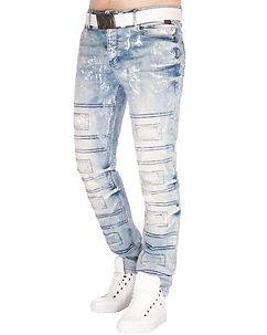 Cipo & Baxx CD228A Jeans Light Denim