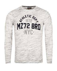 MZ72 Brand The Bright Longsleeve White Melange
