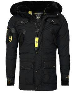 Geographical Norway Acore Parka Jacket Black