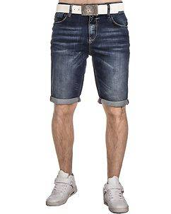 Cipo & Baxx CK176 Denim Shorts Blue
