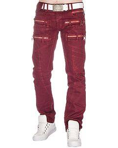 Highness Salvatore Jeans Red
