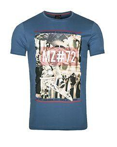 MZ72 Brand The World T-Shirt Blue