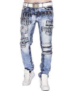Highness Louie Jeans Demin Blue