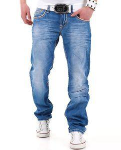Cipo & Baxx C-595 Jeans Denim Blue