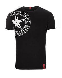 Disturb Clothing The Star Plaque tee VO2 Black/White