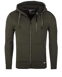 MZ72 Brand Lonas Hooded Jacket Olive