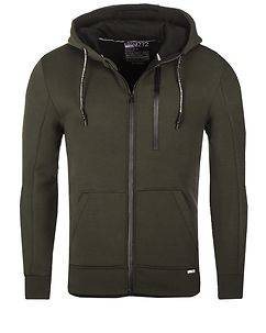 MZ72 Brand Lonas Hooded Jacket Olive