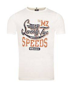 MZ72 Brand The Race T-Shirt Off White