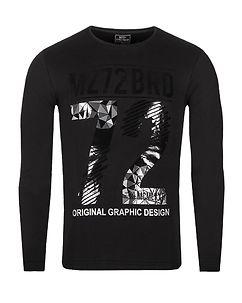 MZ72 Brand The Winter Longsleeve Black