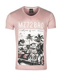 MZ72 Brand The Shore T-Shirt Pink