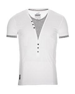 Carisma Chase T-Shirt White/Grey