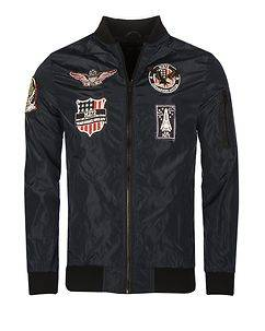 MZ72 Brand Batch Jacket Navy