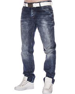Cipo & Baxx CD319Y Jeans Denim Blue
