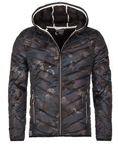 MZ72 Brand Leerun Jacket Camo Blue