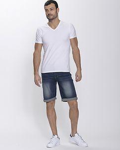MZ72 Brand Fame Shorts Denim Blue