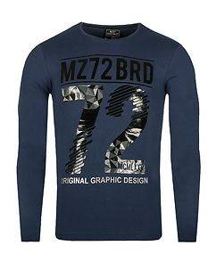 MZ72 Brand The Winter Longsleeve Blue