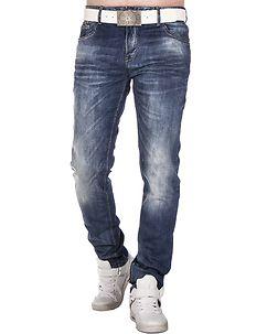 Cipo & Baxx CD319B Jeans Denim Blue