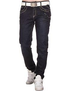 Cipo & Baxx CD395 Jeans Dark Denim