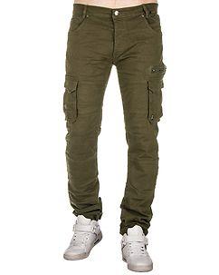 MZ72 Brand Etna Cargo Pants Khaki