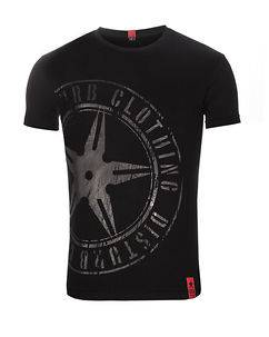 Disturb Clothing The Throwing Star Tee Black/Black