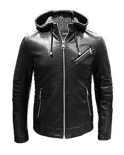 Biker Jacket Marcius Leather Jacket Black