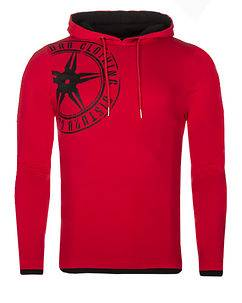 Disturb Clothing Logo Hoodie Red/Black