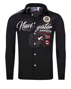 Geographical Norway Zariminel Shirt Black